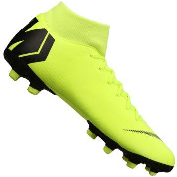 Nike Nocken-SohleMercurial Superfly 6 Academy MG gelb