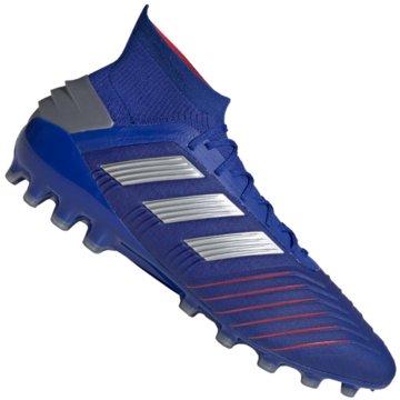adidas Multinocken-SohlePredator 19.1 AG blau