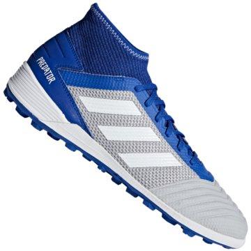 adidas Multinocken-SohlePredator Tango 19.3 TF Fußballschuh - BC0555 grau