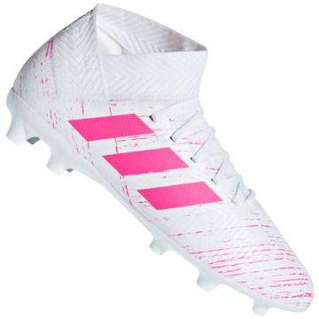 adidas FußballschuhNemeziz 18.3 FG Fußballschuh - CM8506 weiß