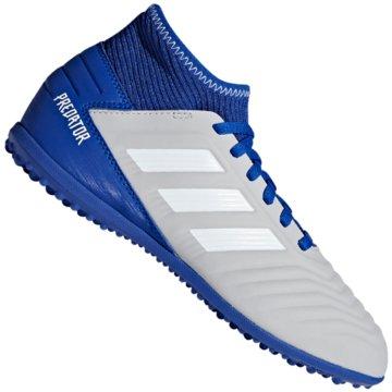 adidas Multinocken-SohlePredator Tango 19.3 TF Fußballschuh - CM8548 grau