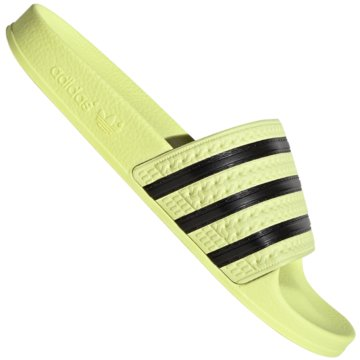 adidas BadeschuhAdilette Pastels Slide gelb