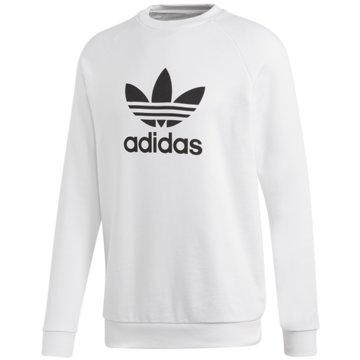 adidas SweaterTREFOIL CREW - DV1544 weiß