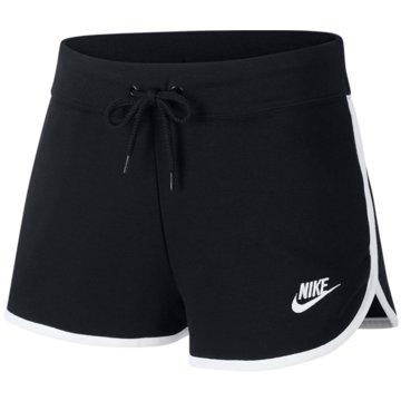 Nike kurze SporthosenNew Heritage Short Women schwarz