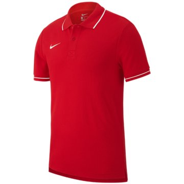 Nike PoloshirtsNIKE CLUB19 KIDS' SOCCER POLO - AJ1546 rot