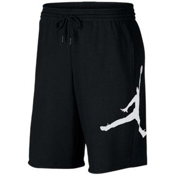 Nike BasketballshortsJORDAN JUMPMAN LOGO MEN'S FLEECE SH - AQ3115 schwarz
