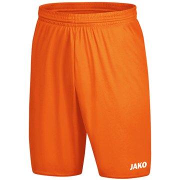Jako Fußballshorts orange