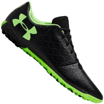Under Armour Multinocken-Sohle schwarz