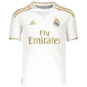 adidas Fan-TrikotsReal Madrid Heimtrikot - DX8838 weiß