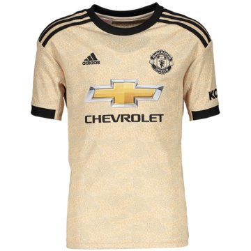 adidas Fan-TrikotsManchester United Auswärtstrikot - DX8945 beige