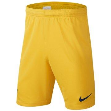 Nike Fan-Hosen gelb