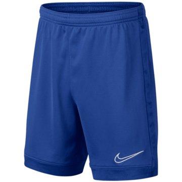 Nike Kurze SporthosenNIKE DRI-FIT ACADEMY BOYS' SOCCER S - AO0771 blau