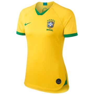 Nike Fan-TrikotsBrasil 2019 Stadium Home Jersey Women gelb