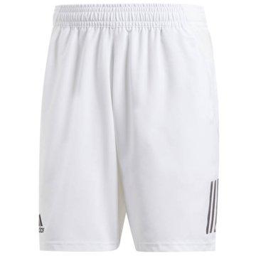 adidas TennisshortsCLUB 3STR SHORT - DP0302 weiß