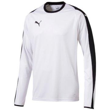 Puma Langarmshirt weiß