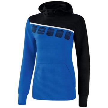 Erima Sweater5-C KAPUZENSWEAT - 1071910 blau