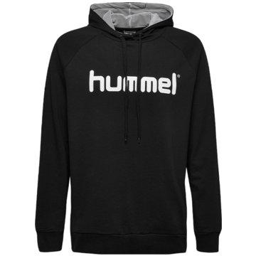 Hummel HoodiesHMLGO KIDS COTTON LOGO HOODIE - 203512 schwarz