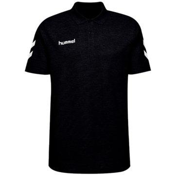 Hummel Poloshirts schwarz