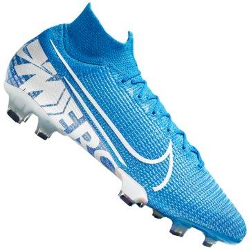 Nike Nocken-SohleMercurial Superfly VII Elite FG blau