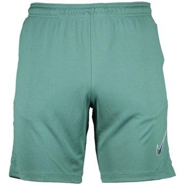 Nike Kurze Sporthosen grün