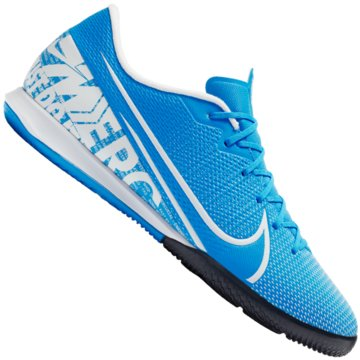 Nike Hallen-SohleMercurial Vapor 13 Academy IC blau