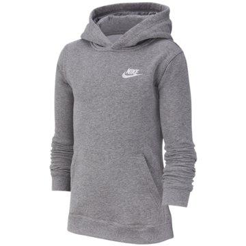 Nike HoodiesB NSW HOODIE PO CLUB - BV3757 grau