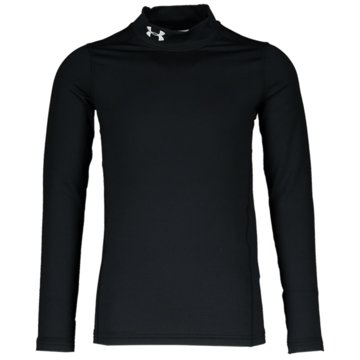 Under Armour LangarmhemdenJUNGEN COLDGEAR® ARMOUR SHIRT MIT STEHKRAGEN - 1343269 schwarz