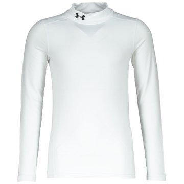 Under Armour LangarmhemdenJUNGEN COLDGEAR® ARMOUR SHIRT MIT STEHKRAGEN - 1343269 weiß