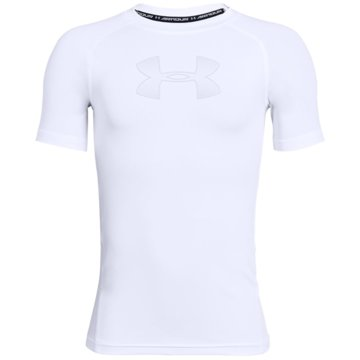 Under Armour Kurzarmhemden weiß