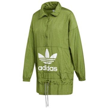 adidas FleecejackenWINDBREAKER - ED7597 grün