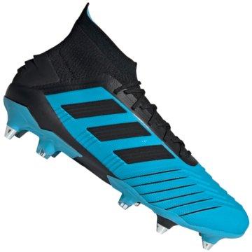 adidas Stollen-SohlePREDATOR 19.1 SG - F99988 blau