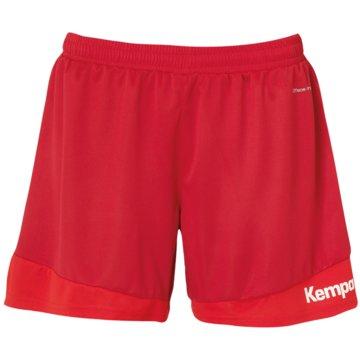Kempa kurze Sporthosen rot