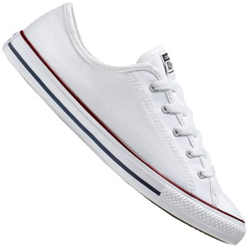 Converse Sneaker LowCHUCK TAYLOR ALL STAR DAINTY GS BAS weiß