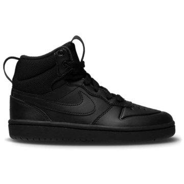 Nike Sneaker LowCOURT BOROUGH MID 2 - BQ5442-001 schwarz