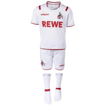Uhlsport Fan-Anzüge1. FC KÖLN MINI-KIT 19/20 - 10035161948 1 weiß