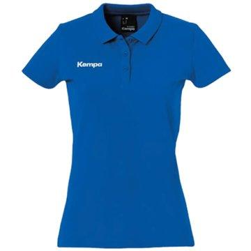 Kempa Poloshirts blau