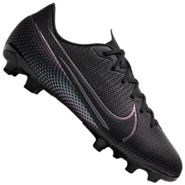 Nike Nocken-SohleNike Jr. Mercurial Vapor 13 Academy MG Kids' Multi-Ground Soccer Cleat - AT8123-010 schwarz