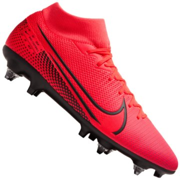 Nike Stollen-SohleMercurial Superfly VII Academy SG-Pro Anti-Clog Traction rot