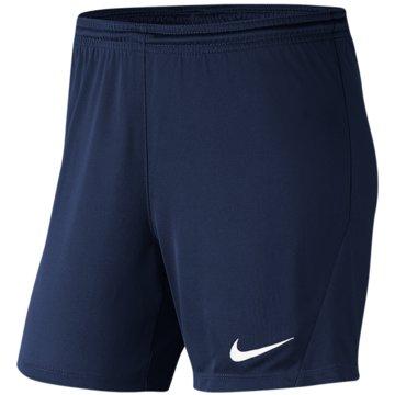 Nike FußballshortsNike Dri-FIT Park 3 Women's Knit Soccer Shorts - BV6860-410 blau