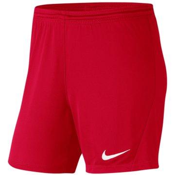 Nike FußballshortsPark III Knit Short NB Women rot