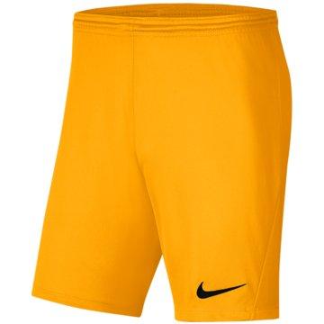 Nike FußballshortsDRI-FIT PARK 3 - BV6865-739 orange