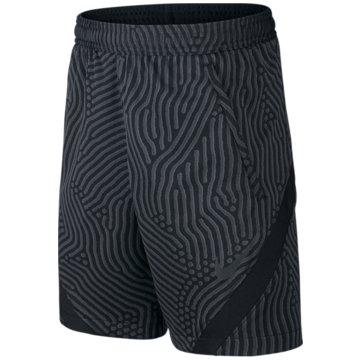 Nike Fußballshorts schwarz