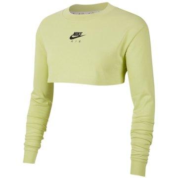 Nike SweatshirtsNIKE AIR WOMEN'S LONG-SLEEVE CROP gelb