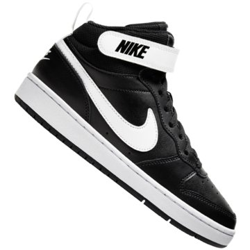 Nike Sneaker LowNike Court Borough Mid 2 Big Kids' Shoe - CD7782-010 schwarz