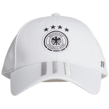 adidas CapsDFB BASEBALL KAPPE - FJ0826 weiß
