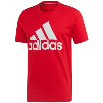 adidas T-ShirtsMUST HAVES BADGE OF SPORT T-SHIRT - FL3943 rot