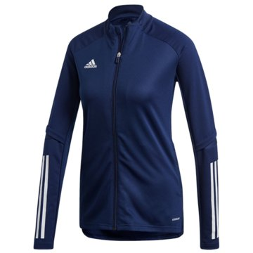 adidas FleecejackenCON20 TR JKT W - FS7106 blau