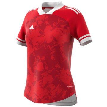 adidas FußballtrikotsCONDIVO20 JSY W - FT7247 rot