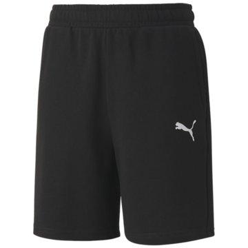 Puma Kurze Sporthosen schwarz