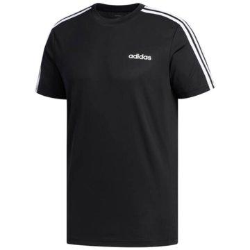 adidas T-ShirtsDESIGN 2 MOVE 3-STREIFEN T-SHIRT - FL0349 schwarz
